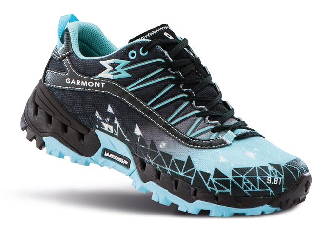 Garmont 9.81 Bolt Zapatillas Mujer, negro/Turquesa